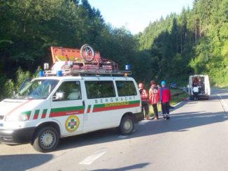 Die Bergwacht im Einsatz