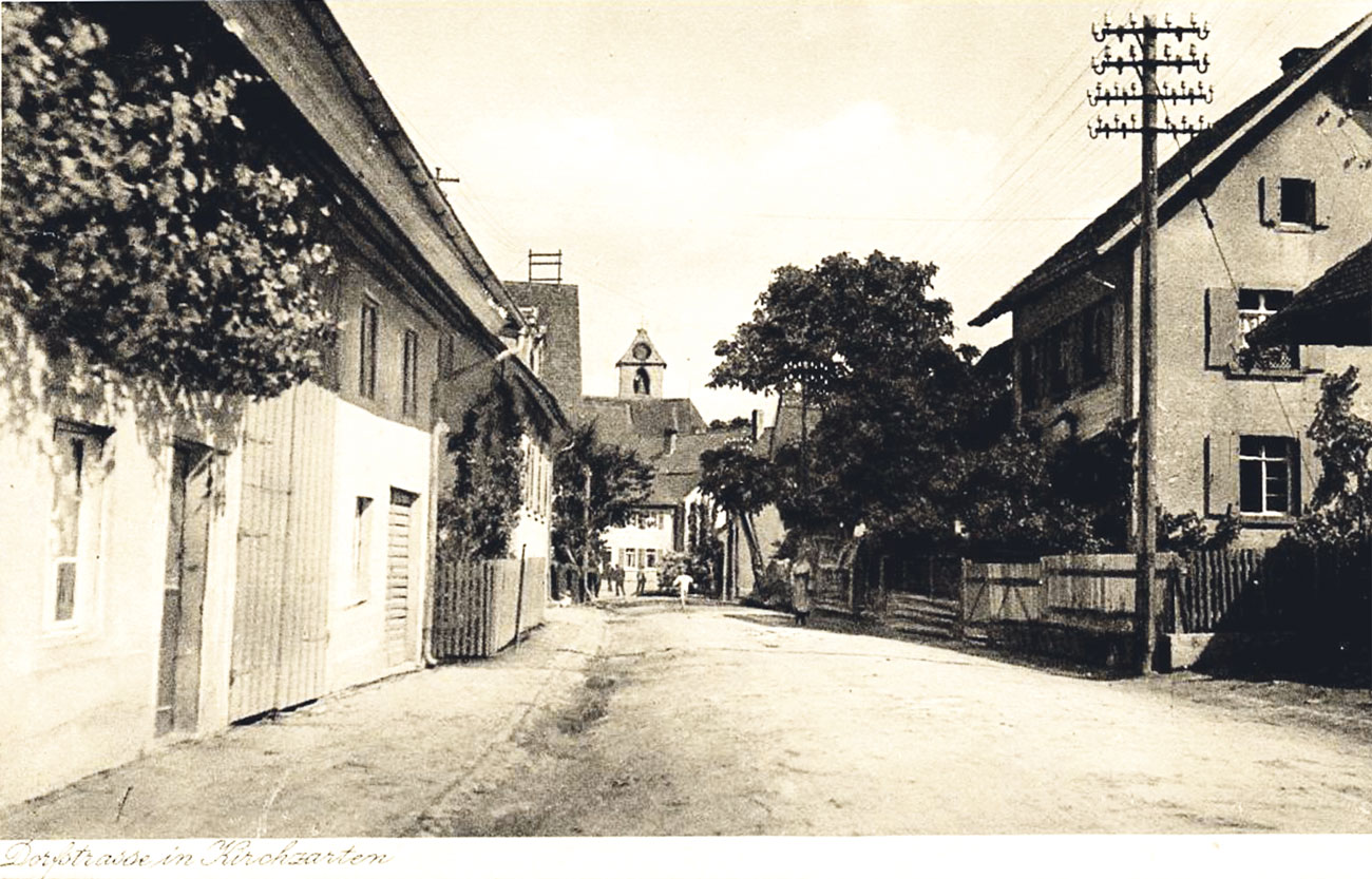 Dorfstraße in Kirchzarten