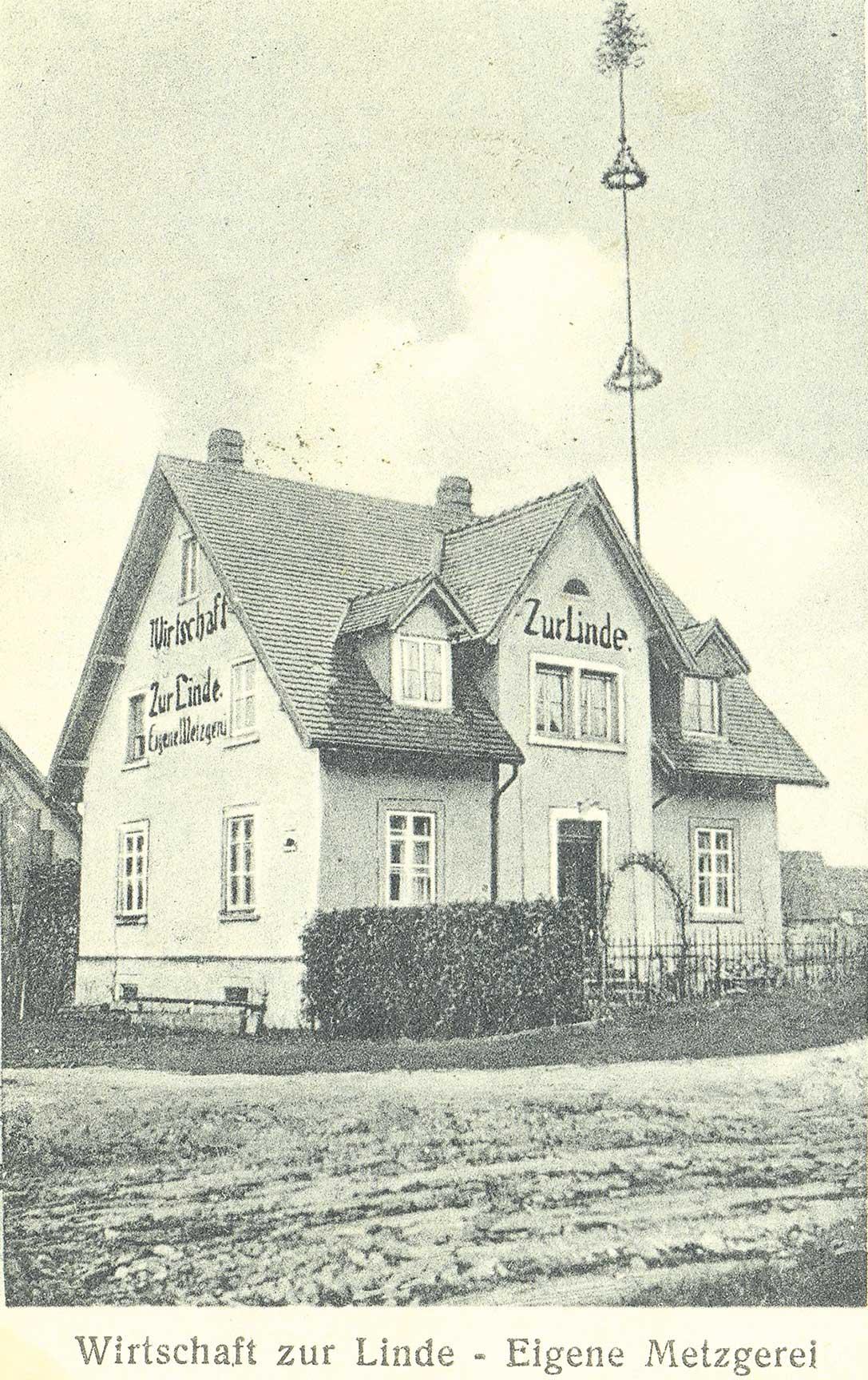 Gasthaus Linde 1925