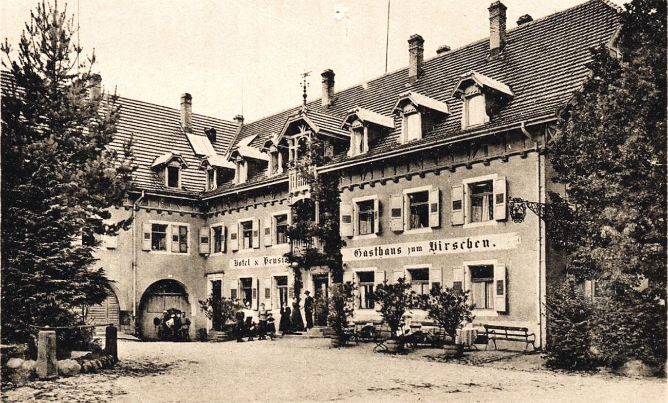 Hirschen St. Peter 1920