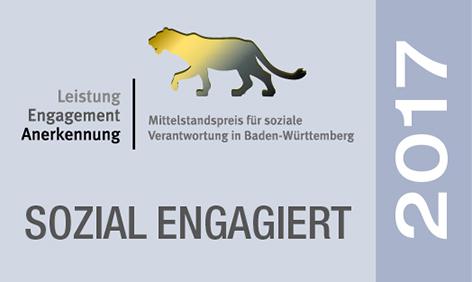 Mittelstandspreis für soziale Verantwortung in Baden- Württemberg