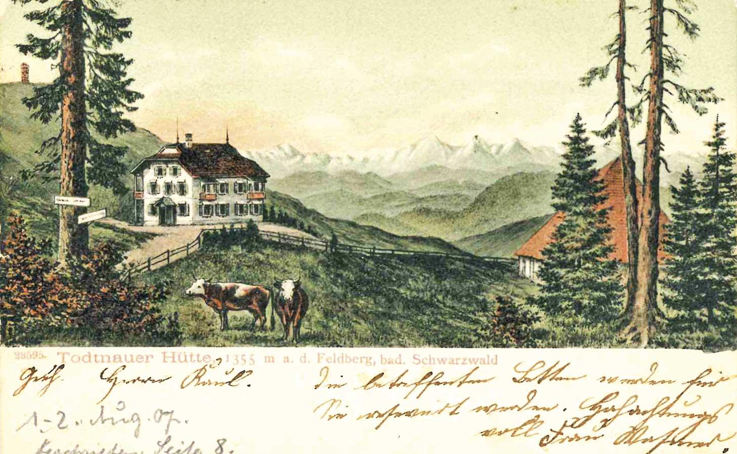 Die Todtnauer Hütte