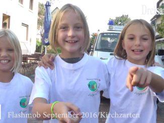 """Dreisamtäler Flashmob des """"Roten Kreuz"""" Freiburg 2016"""