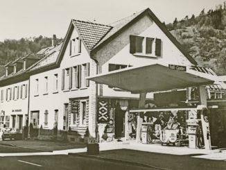 Blattmann Tankstelle 1960