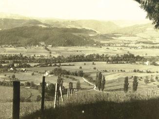 Burg-Höfen um 1935