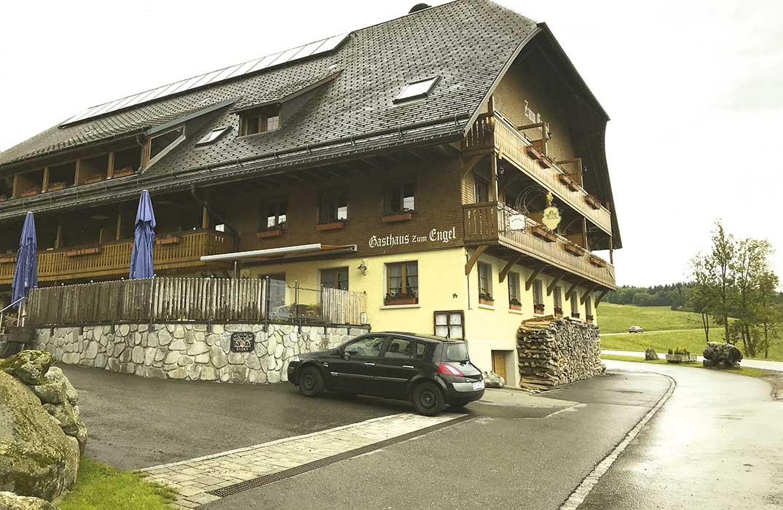 Das Gasthaus Engel in Alpersbach