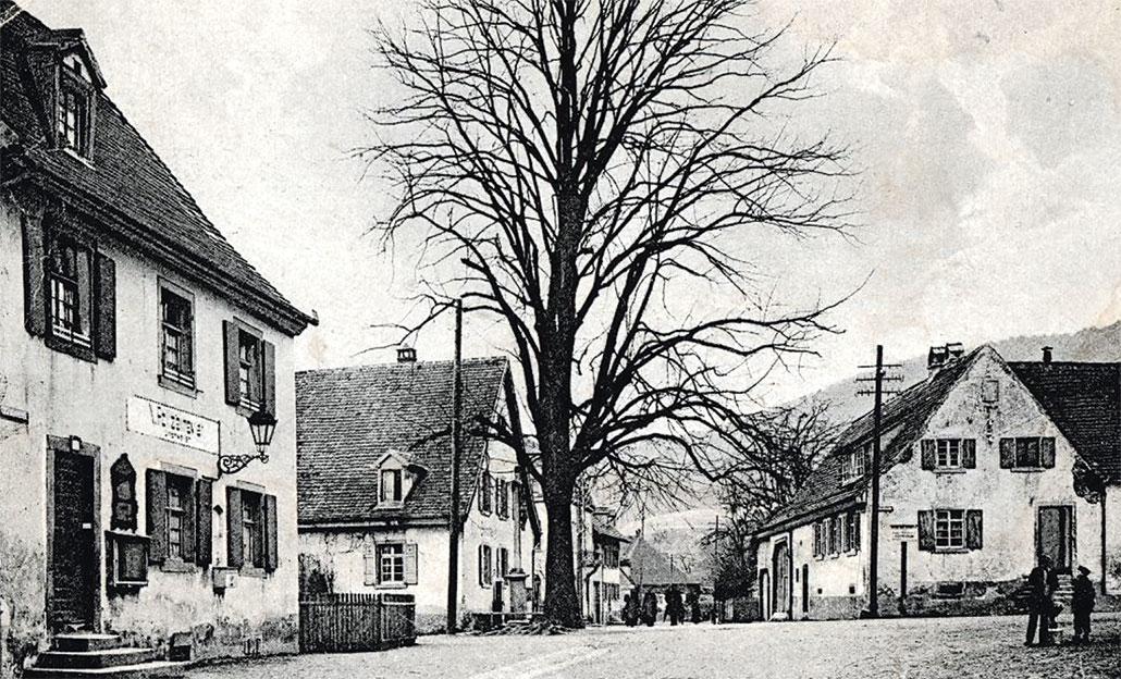 Dorfplatz in Littenweiler