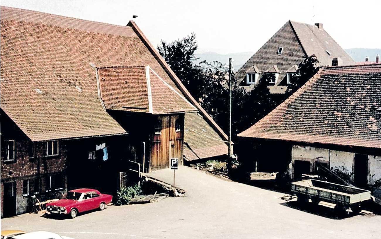 Fortuna Scheune 1970