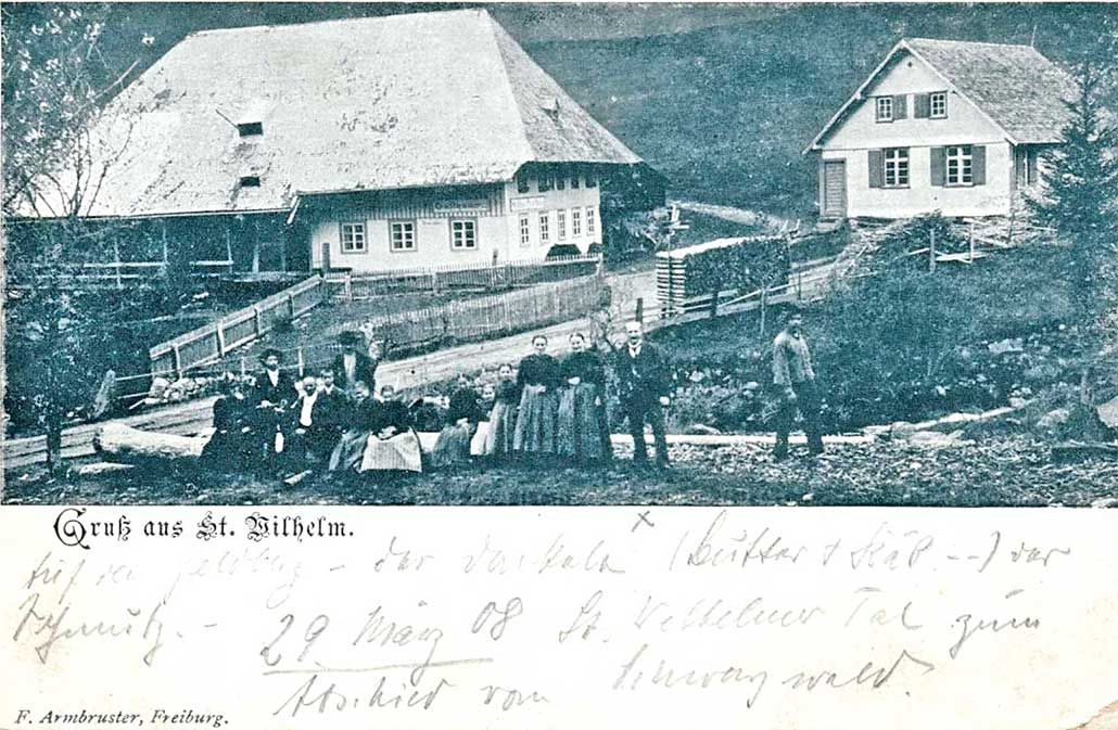Gasthaus Napf Linde 1908