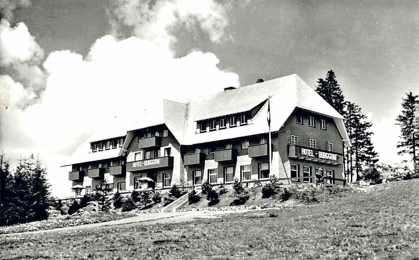 Hotel Burggraf 1950