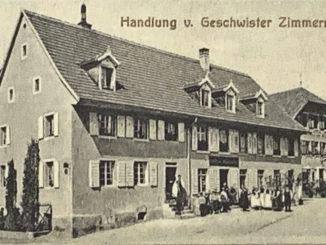 Kirchplatz Kirchzarten1935