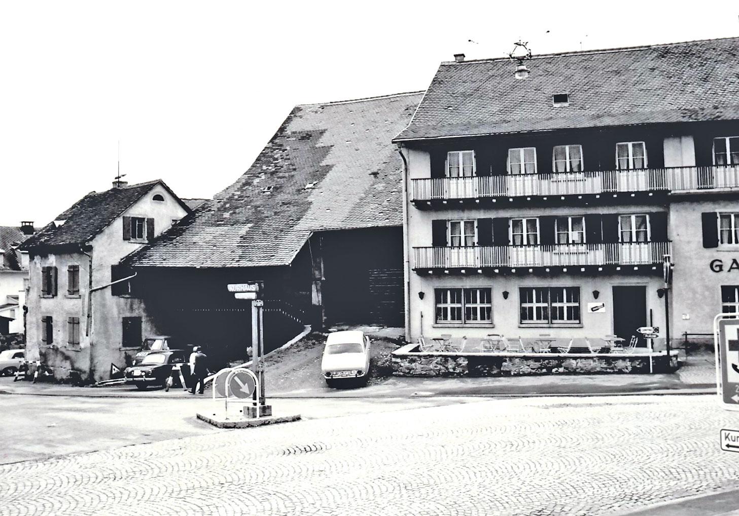 Hotel Sonne in Kirchzarten 1968