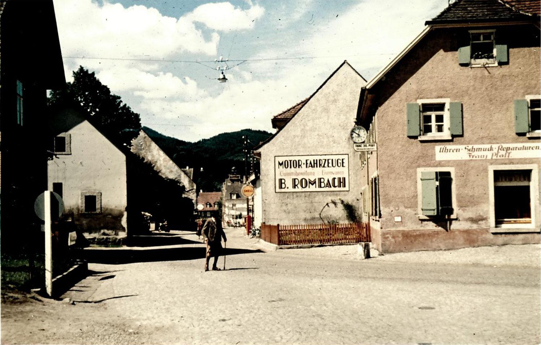 Kirchzarten Pfaffeneck um 1930.
