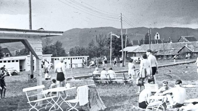 Kirchzarten Strandbad 1950