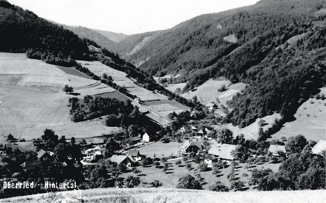 Oberried Hintertal 1925