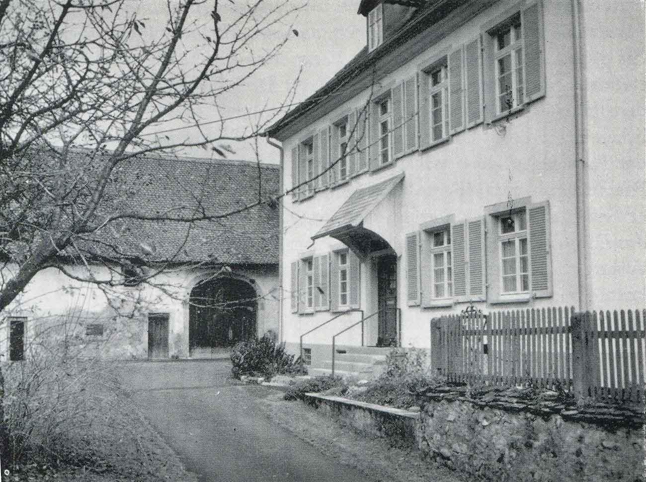 Pfarrhaus Kirchzarten 1925