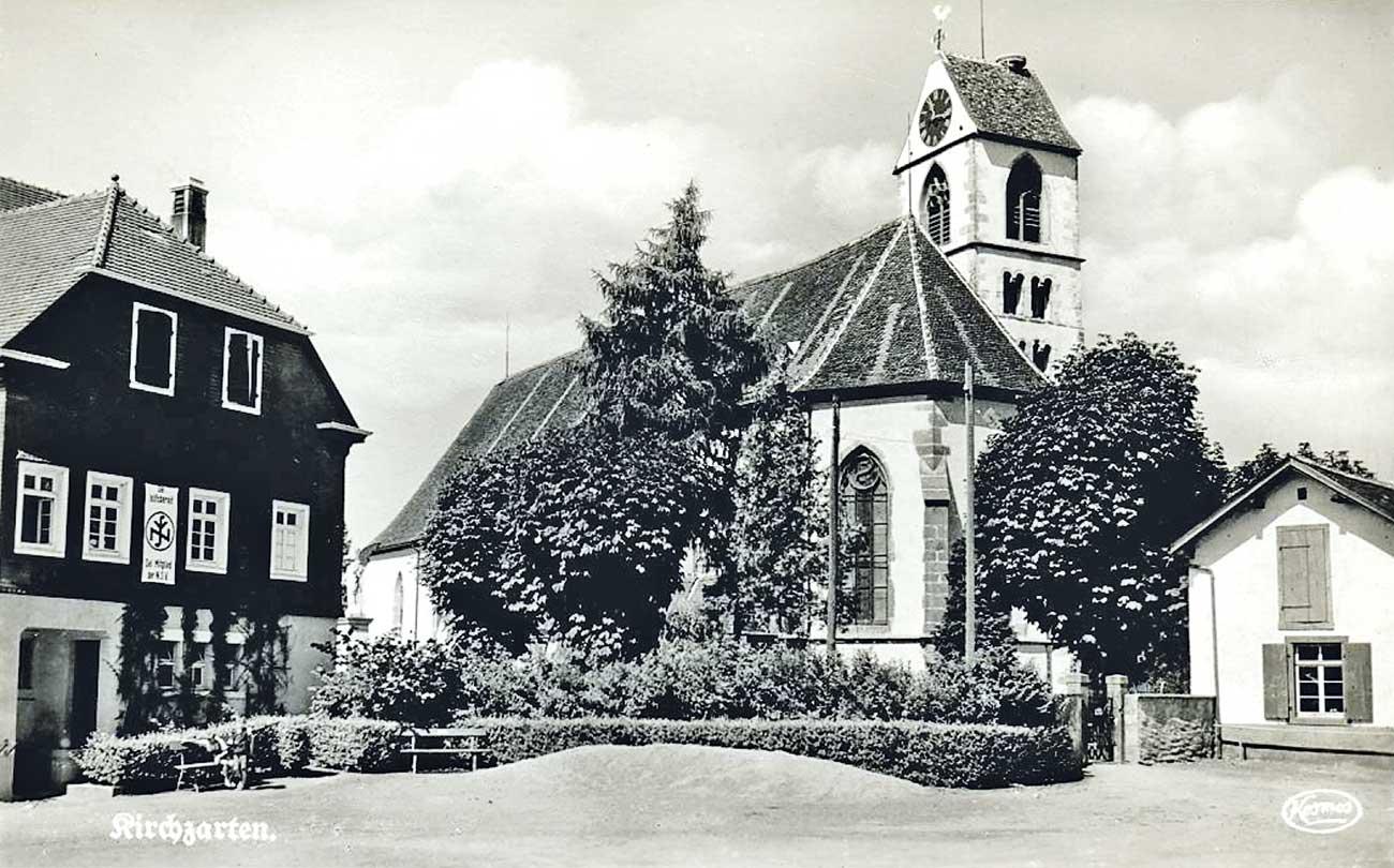 Rathaus Kirchzarten 1950