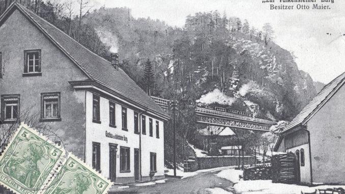 Falkensteiner Burg um 1930