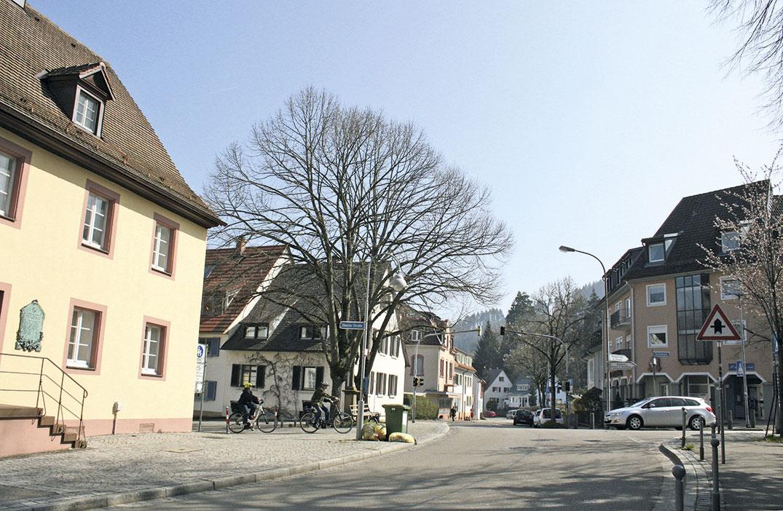 Dorfplatz Littenweiler 2019