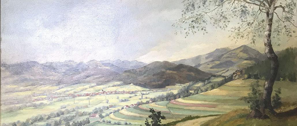 Gemälde von Ernst Oberlin