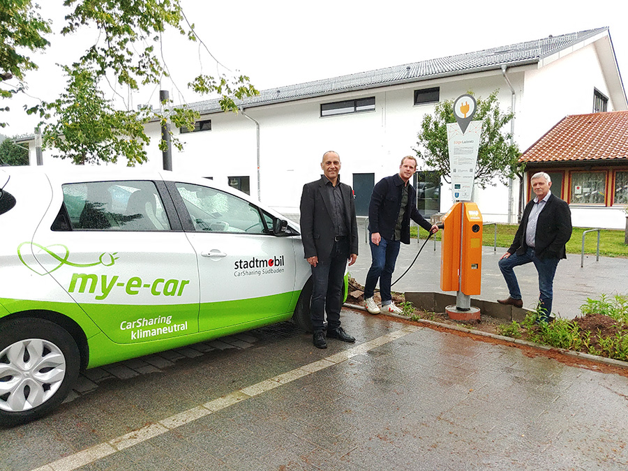 E Carsharing In St Peter