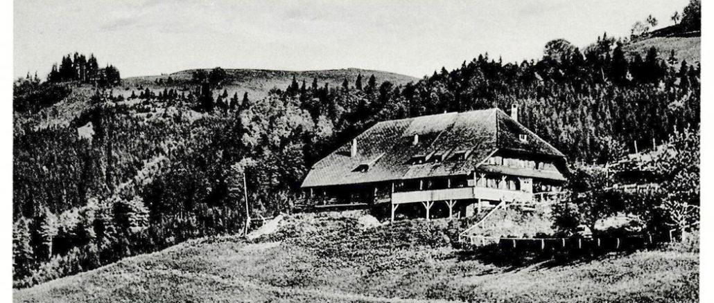 Höfener Hütte 1900
