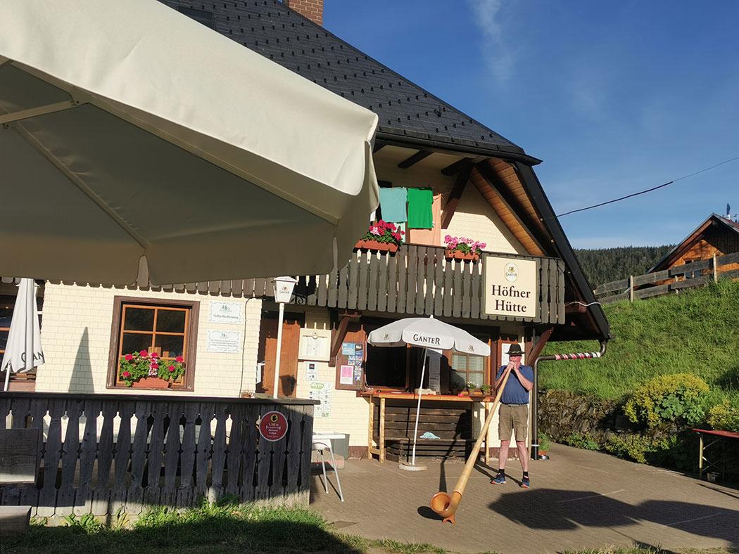 Alphorn Höfener Hütte