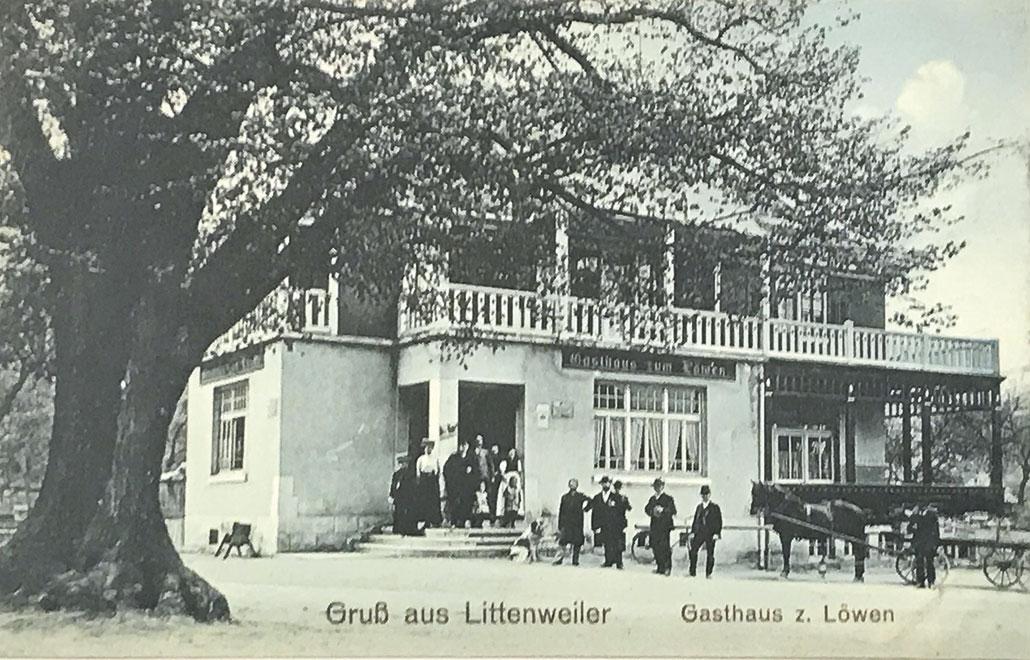 """Gasthaus """"Löwen"""" in Freiburg-Littenweiler"""