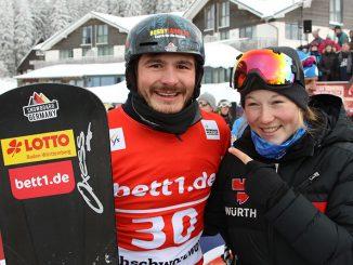 Paul Berg und Jana Fischer
