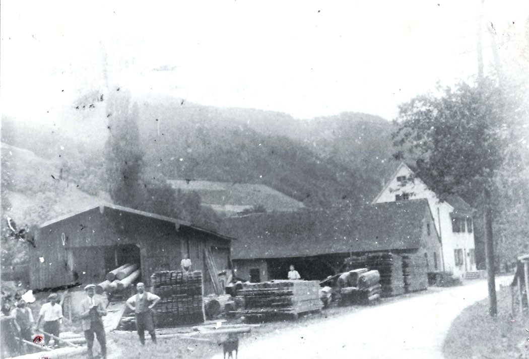 Sägewerk in Falkensteig