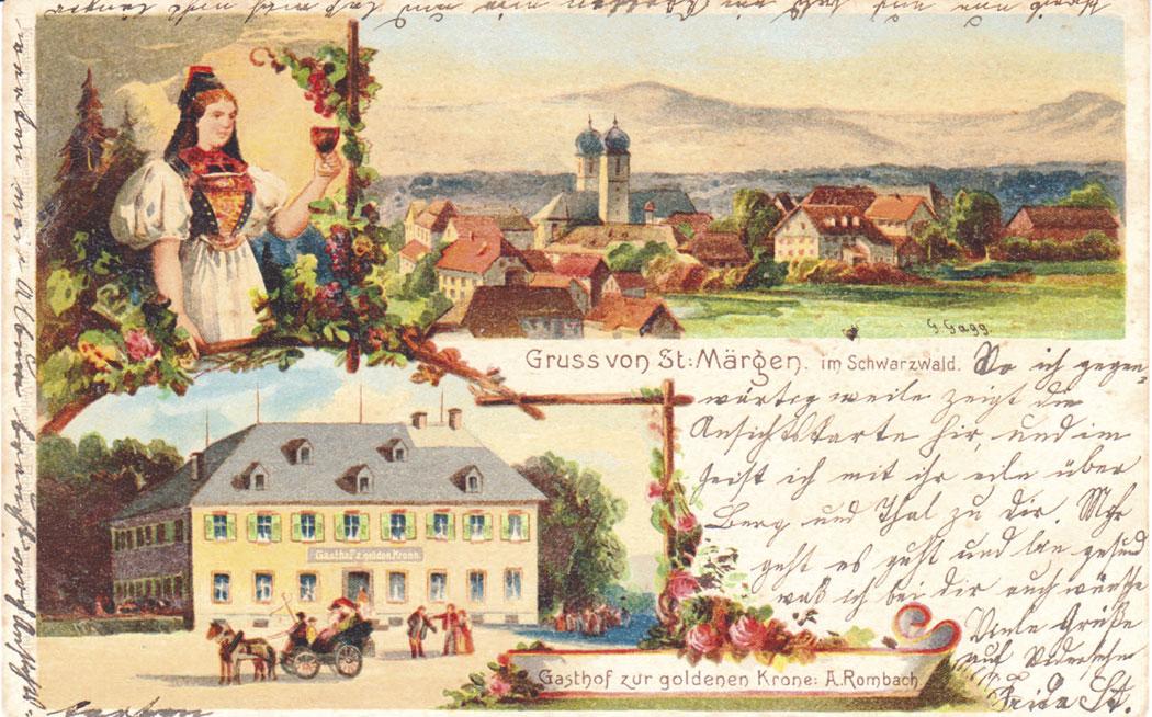 St. Märgen von Gebhard Gagg