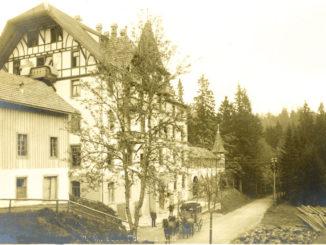 Waldhotel Notschrei 1910